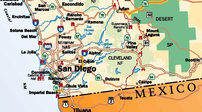 24/7 San Diego Locksmith Areas