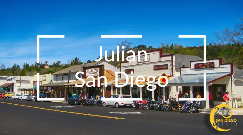 Julian Locksmith in San Diego County