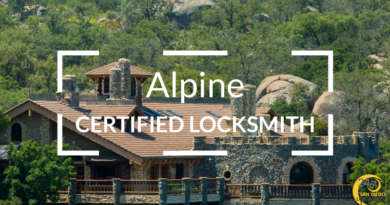 Alpine Locksmith Services in San Diego County