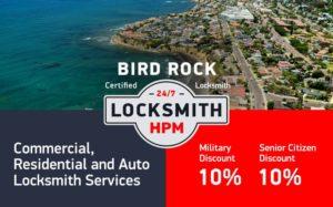 Bird Rock Locksmith Services in San Diego County