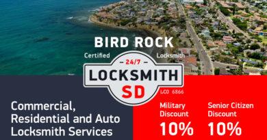 Bird Rock Locksmith Services in San Diego
