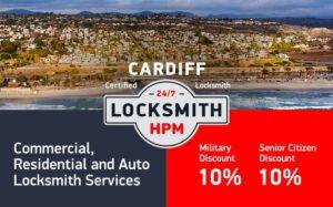 Cardiff Locksmith Services in San Diego County