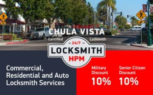 Chula Vista Locksmith Services in San Diego County