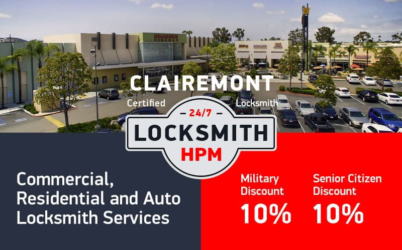 Clairemont Locksmith Services in San Diego County