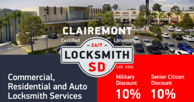 Clairemont Locksmith Services in San Diego