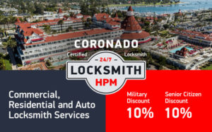 Coronado Locksmith Services in San Diego County
