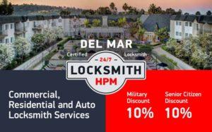 Del Mar Locksmith Services in San Diego County