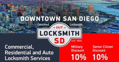 San Diego Downtown Locksmith Services in San Diego