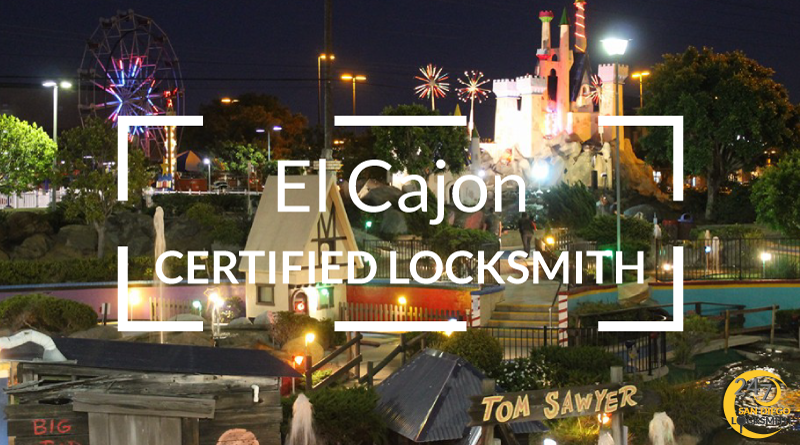 El Cajon Locksmith Services in San Diego County