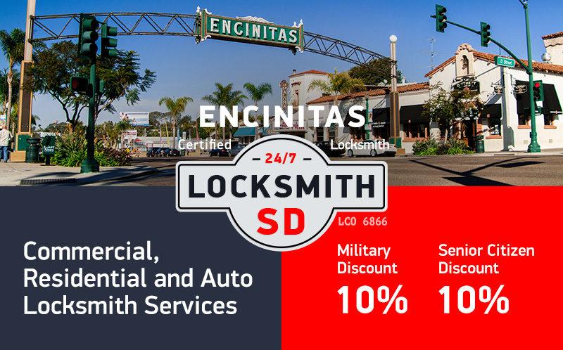 Encinitas Locksmith Services in San Diego County