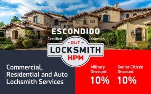 Escondido Locksmith Services in San Diego County