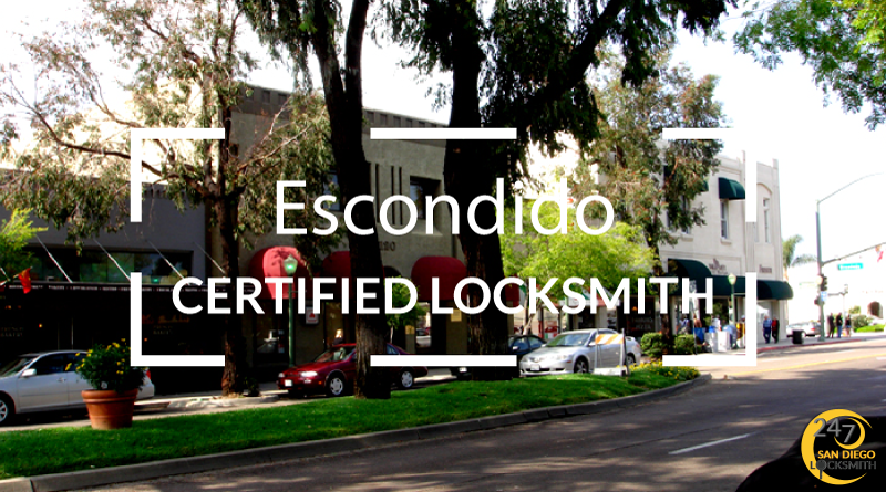 Escondido Locksmith Services in San Diego County