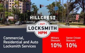 Hillcrest Locksmith Services in San Diego County