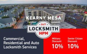 Kearny Mesa Locksmith Services in San Diego County