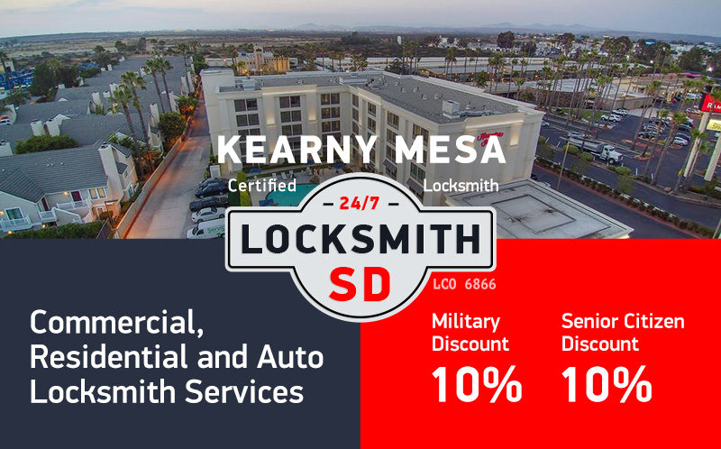 Kearny Mesa Locksmith Services in San Diego
