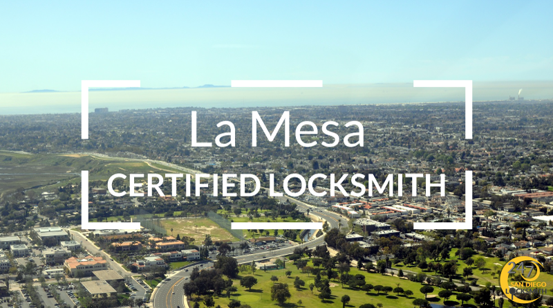 La Mesa Locksmith Services in San Diego County
