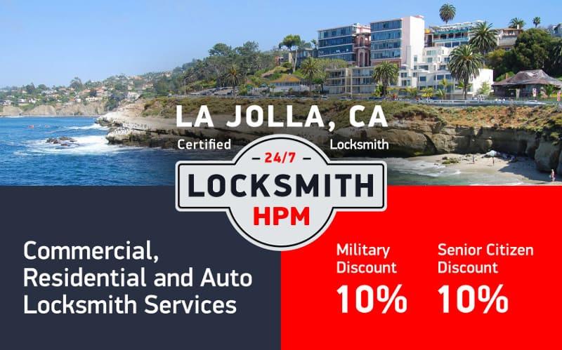 La Jolla Locksmith Services in San Diego County