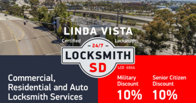 Linda Vista Locksmith Services in San Diego