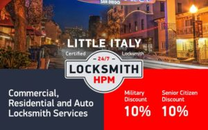 Little Italy Locksmith Services in San Diego County