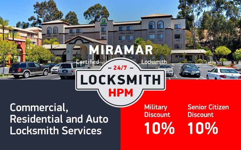 Miramar Locksmith Services in San Diego County