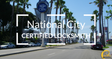 National City Locksmith Services in San Diego County