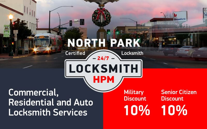 North Park Locksmith Services in San Diego County