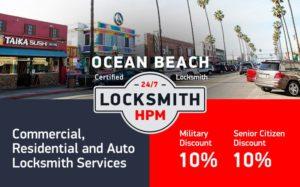 Ocean Beach Locksmith Services in San Diego County