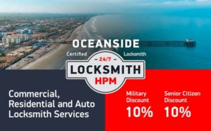 Oceanside Locksmith Services in San Diego County