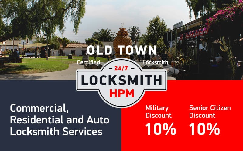 Old Town Locksmith Services in San Diego County