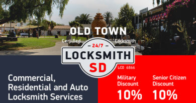 Old Town Locksmith Services in San Diego