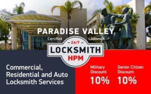 Paradise Valley Locksmith Services in San Diego County