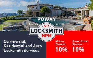 Poway Locksmith Services in San Diego County
