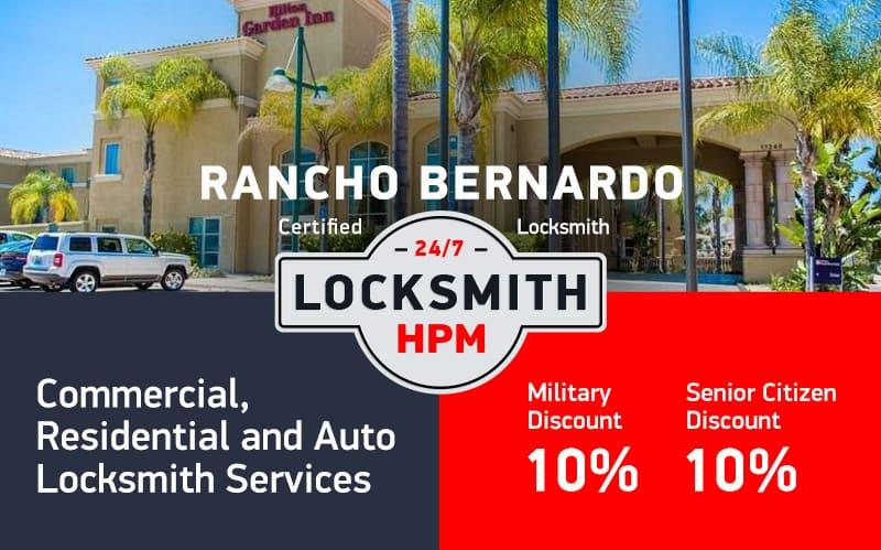 Rancho Bernardo Locksmith Services in San Diego County