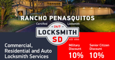 Rancho Penasquitos Locksmith Services in San Diego County