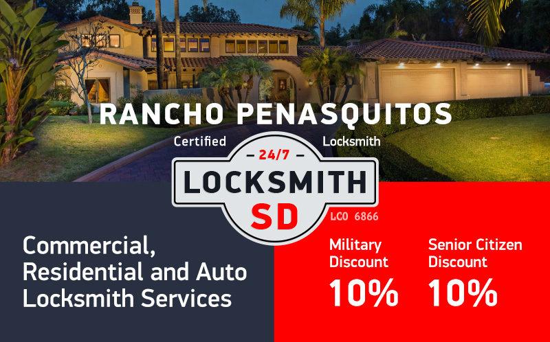 Rancho Penasquitos Locksmith Services in San Diego County