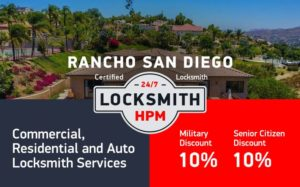 Rancho Locksmith Services in San Diego County