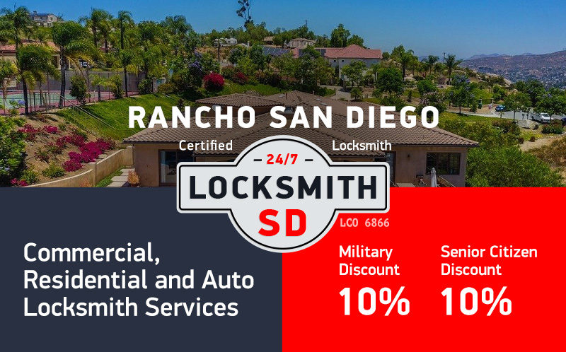 Rancho San Diego Locksmith Services in San Diego County