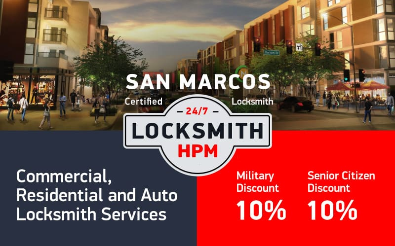 San Marcos Locksmith Services in San Diego County