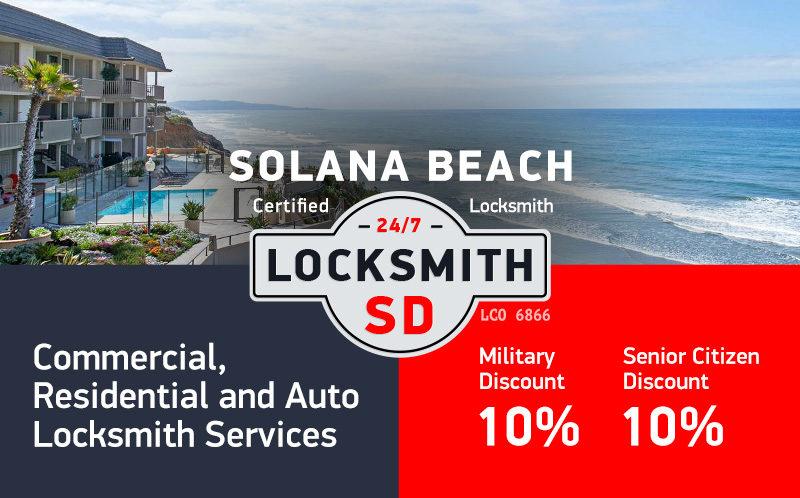 Solana Beach Locksmith Services in San Diego County