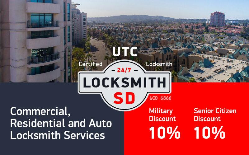 UTC Locksmith Services in San Diego