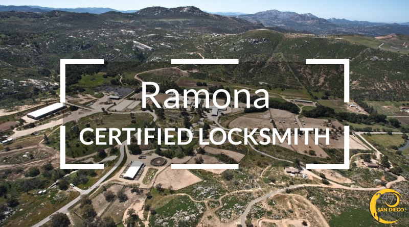 Ramona Locksmith Services in San Diego County