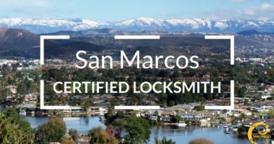 San Marcos Locksmith Services in San Diego County