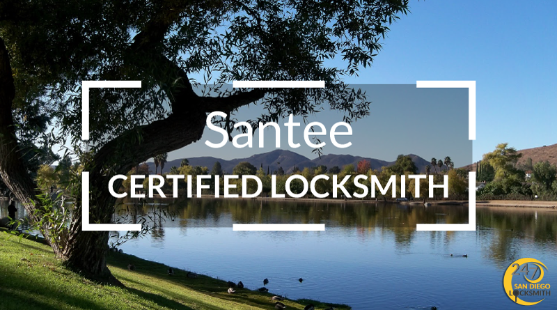 Santee Locksmith Services in San Diego County