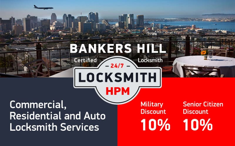 Bankers Hill Locksmith Services in San Diego County
