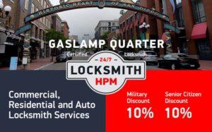 Gaslamp Quarter Locksmith Services in San Diego County