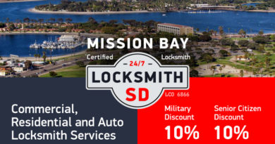 Mission Bay Locksmith Services in San Diego
