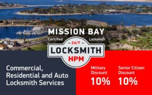Mission Bay Locksmith Services in San Diego County
