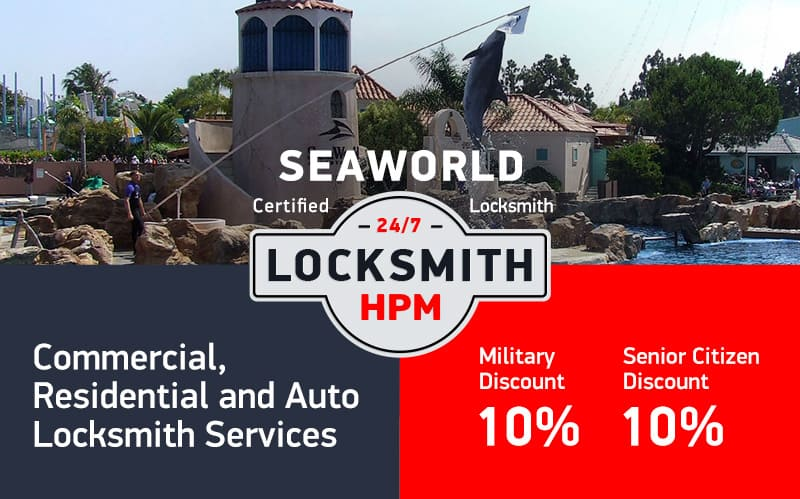 SeaWorld Locksmith Services in San Diego County