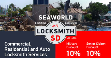 SeaWorld Locksmith Services in San Diego