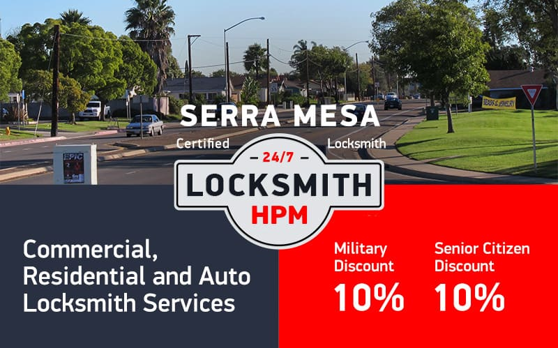 Serra Mesa Locksmith Services in San Diego County